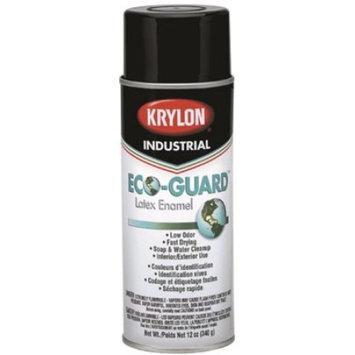 KRYLON ECO GUARD LATEX SPRAY PAINT 12 OZ GLOSS BLACK