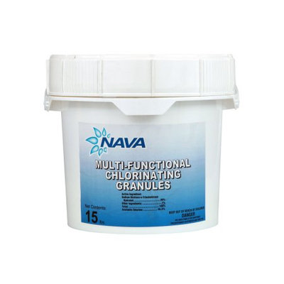 Nava Chlorinating Di-Chlor Granules - 15 lb. Bucket