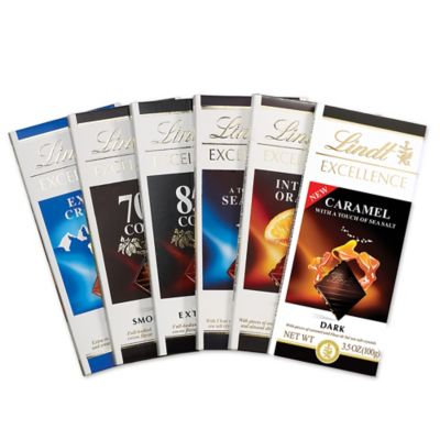 Lindt & Sprungli Lindt Excellence Assorted Bar Collection, 6ct