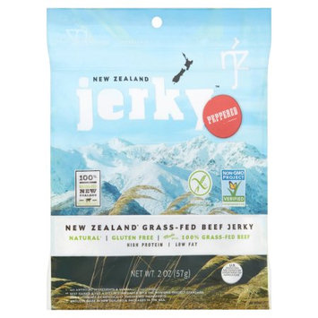 Nzj Inc New Zealand Jerky, Jerky Beef Peppered Non Gmo, 2 Oz (Pack Of 6)