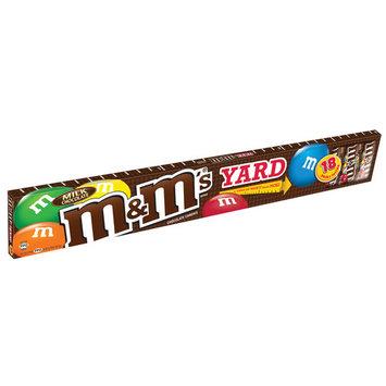 M&M's, Holiday Yard Of Milk Chocolate Christmas Candy, 30.42 Oz, 18 Ct