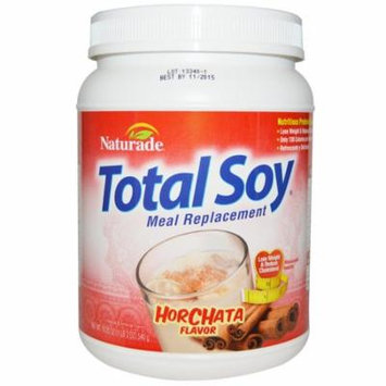 Naturade, Total Soy, Meal Replacement, Horchata Flavor, 19.05 oz (540 g)(Pack of 1)
