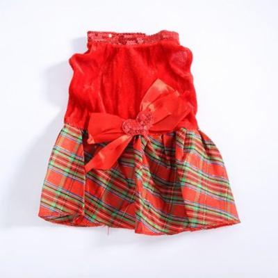 Mosunx Santa Doggy Costumes Pet Apparel New Design
