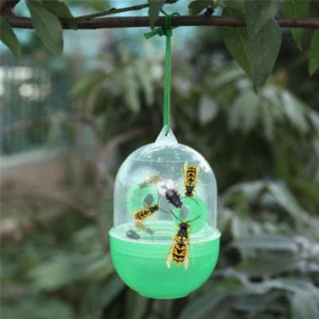 Outtop Wasp Fly Flies Bee Insects Hanging Trap Catcher Killer No Poison Or Chemical