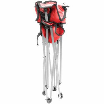 Creative Outdoor Distributor 810379 Folding Baby High Chair (Red)