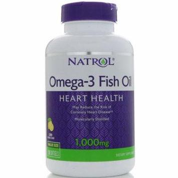 NATROL® Omega-3 Fish Oil Heart Health Lemon Natural Flavor