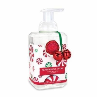 Michel Design Works Foaming Shea Butter Hand Soap 17.8 Oz. - Peppermint Swirl