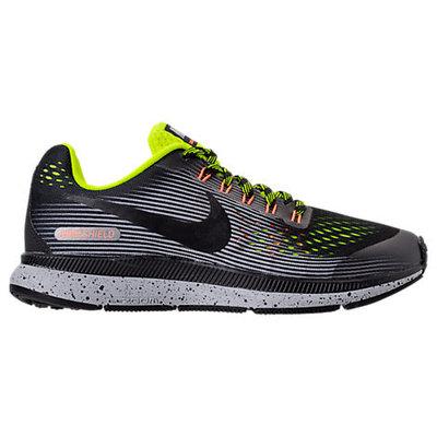 Boy's Nike Zoom Pegasus 34 Shield Gs Sneaker, Size 6.5 M - Black