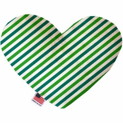 Lucky Stripes 6 inch Heart Dog Toy