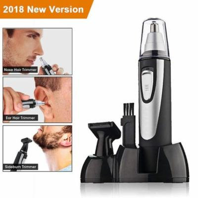 2 In 1 Electric Shaver/Nose Trimmer with Battery-Operated