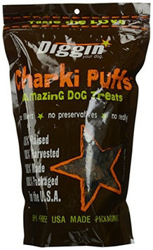 Diggin Your Dog Original Charki Puffs Dog Treats - 6 oz.