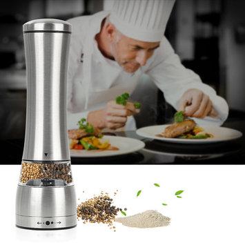 Salt and Pepper Grinder Set of 1/ Set of 2 - oobest Manual Pepper Mill and Salt Mill Shakers With Adjustable Coarseness - Salt and Pepper Shakers- Spice Grinder