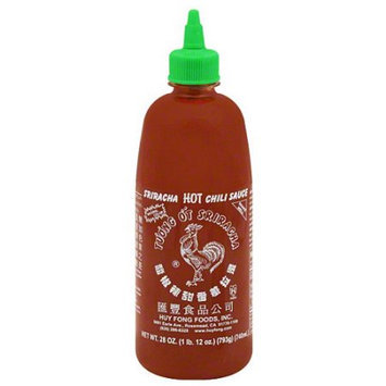 Huy Fong Sriracha Hot Chili Sauce, 28 oz, (Pack of 6)
