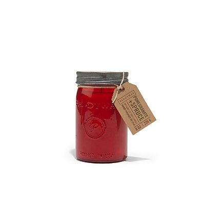 Paddywax Relish Collection 9.5 oz. Jar Candle, Pomegranate And Spru.