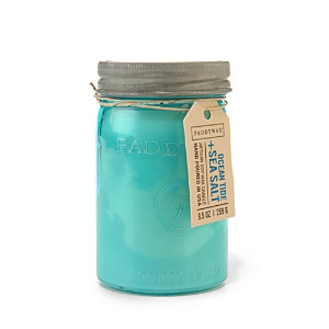 Paddywax Relish Collection 9.5 oz. Jar Candle, Ocean Tide And Sea Salt