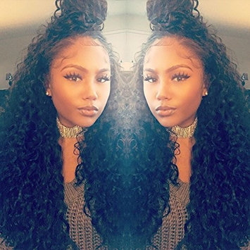 ZigZag Hair 360 Lace Frontal Wig Brazilian Virgin Human Hair Wigs For Black Women 360 Lace Wig Pre Plucked Full Lace Wig With Baby Hair