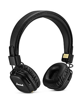 Marshall Major II Bluetooth On-Ear Stereo Headphones (Black)