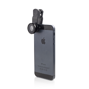 Kikkerland Clip Lens Set-BLACK-One Size