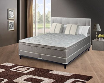 Spring Coil mattress, 10' Pillowtop Eurotop, Fully Assembled Othopedic Twin Mattress & 5' Split Box Spring, Luxury Collection