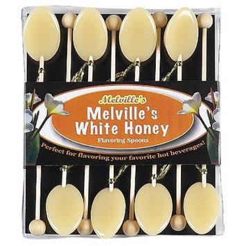 White Honey Tea Spoons Gift Sets: 3 Count