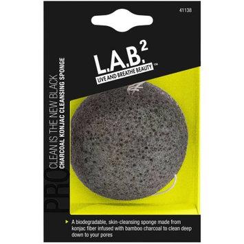 Pacific World Corp L.A.B.2 Charcoal Konjac Cleansing Sponge