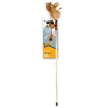 OurPets® Tiger Teaser Wand Cat Toy
