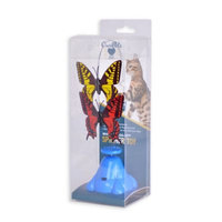 OurPets® Whirling Wiggler Spinner Cat Toy