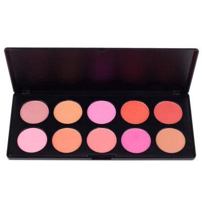 Coastal Scents 10 Piece Professional Makeup Blush Palette