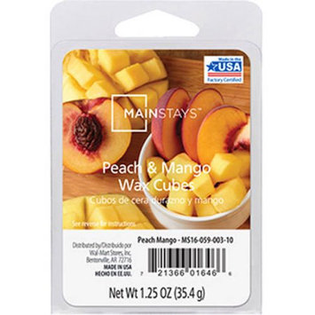 Mainstays Peach Mango Wax Cubes