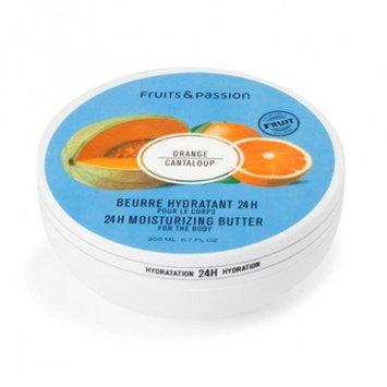 24h Moisturizing Body Butter Orange Cantaloup Vitality 200 ml (Orange Cantaloup)