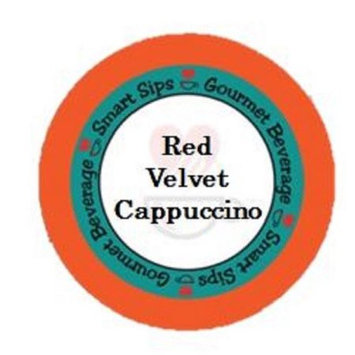 Smart Sips Coffee Red Velvet Cappuccino, for Keurig K-cup Brewers, 24 Count