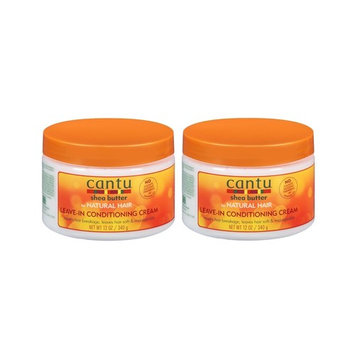 Cantu Shea Butter for Natural Hair Leave-In Conditioning Repair Cream 12 Ounce (354ml)