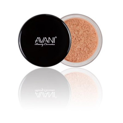 Avani Dead Sea Cosmetics Eye Shadow Shimmering Powder, SP52 Honey, 0.1 Oz