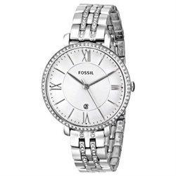 Fossil Women's Jacqueline Stainless Steel Bracelet Watch 36mm ES3545