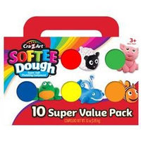 Softee Dough 10 Pack by Cra-Z-Art