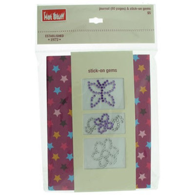 Ddi Hot Stuff Department Store Notebook With Stick On Gems (Pack Of 120)