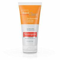 5 Pack Neutrogena Rapid Clear Oil-Eliminating Foaming Acne Cleanser 6 Oz Each