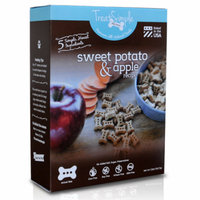TreatSimple Premium, All Natural Training Sized Dog Treats, Sweet Potato & Apple Recipe, 12 oz