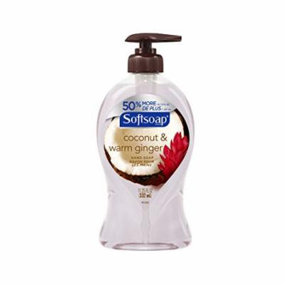 2 Pack Softsoap Hand Soap Coconut & Warm Ginger 11.25oz Each