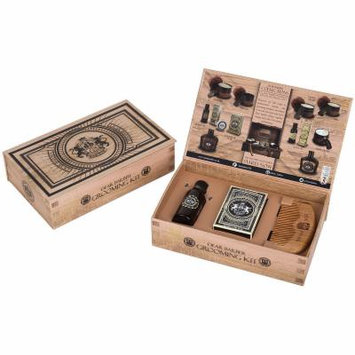 Harry D. Koenig Dear Barber Grooming Kit - Grooming & Shaving - Mustache Waxes - Brown | At JC Penney