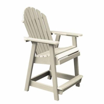 Highwood Highwood Hamilton Counter Deck Chair, Whitewash, One Size