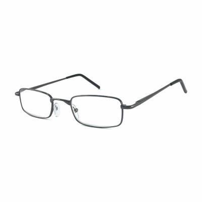 Gabriel + Simone Reading Glasses - Classique, Men's, Dark Grey, One Size