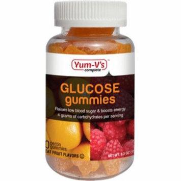Yum V's Kosher Glucose Gummies Fruit Flavor - 60 Gummies