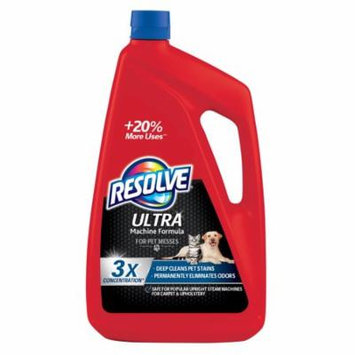 Resolve Ultra For Pet Messes, 3X Concentrated Machine Formula, 48oz