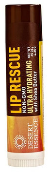 Desert Essence Lip Rescue® Ultra Hydrating with Shea Butter - 0.15 oz (pack of 12)