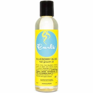 3 Pack - Curls Blueberry Bliss Hair Growth Oil 4 oz