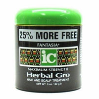 Fantasia Herbal Gro 4 oz. Jar Maximum Strength (3-Pack) with Free Nail File