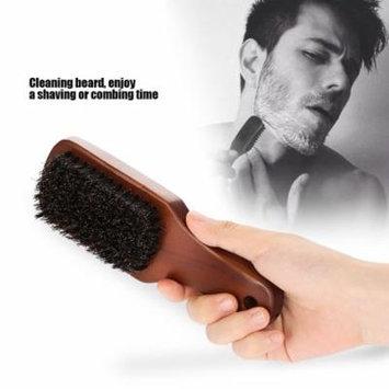 Yosoo Men Facial Shaving Brush Face Massager Beard Cleaning Barba Salon Appliance Tool,Shaving Brush, Mustache Brush