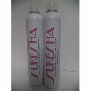 Sukesha Shaping and Styling Hair Spray 10 oz. - 2 PACK!!!
