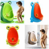 Baby Potty Training Little Boys' Urinal Bathroom Hanging Pee Trainer Frog